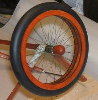 Name: wheel18.jpg Views: 233 Size: 81.3 KB Description: Wooden wheel hubs, fit on pretty snug, may not even need silicone to hold em on.
