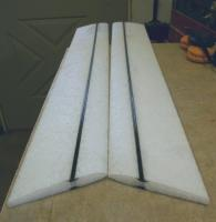 """Name: 1E6.jpg Views: 353 Size: 33.7 KB Description: Spars: Two 1/10"""" diameter CF rods in each slot, top and bottom."""