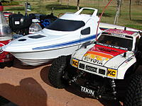 Name: 8-26-12 013.jpg Views: 35 Size: 267.3 KB Description: Dennis with his Marlin and Truk ready