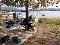 Name: 12-30-12 017.jpg Views: 40 Size: 313.3 KB Description: Manny working on his Hotdog Sailboat that proved was really Faast out there!!!