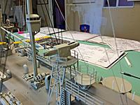 Name: IMG_2781.jpg Views: 35 Size: 665.8 KB Description: Aft rangefinder and torpedo director platform. Railings in progress.