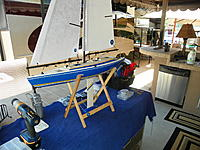 Name: 102_0190 (2).jpg Views: 19 Size: 282.1 KB Description: Picture was taken some time ago after replacing the factory shrouds and backstay with 1x7 strand nylon coated SS leader and sailsetc rigging screws.