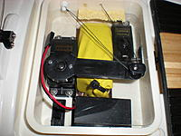 Name: DSCN8257.jpg Views: 90 Size: 71.1 KB Description: This is Chidago's boat re-sheeted with Spectra line.