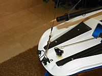Name: 102_0160 (2).jpg Views: 109 Size: 130.1 KB Description: Added a another rigging screw and SS leader on the backstay - works great.
