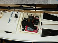 Name: Hitec HS 311 & HS 645MG +Hitec Ranger TX & RX.jpg Views: 172 Size: 143.4 KB Description: Hitec HS 311 rudder & HS 645Metal Gear - These are the basic upgraded servos Steve Lang promotes on his website. So far they are performing well.
