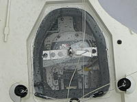 Name: Seawind 0301.jpg Views: 45 Size: 115.9 KB Description: this is another possibility using a bolt through the hatch and a good gasket material around the edges to create seal. The wing nut creates lots of downward pressure -