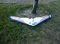 Name: Pic2.jpg Views: 169 Size: 138.8 KB Description: My first wing. Great Planes Slinger