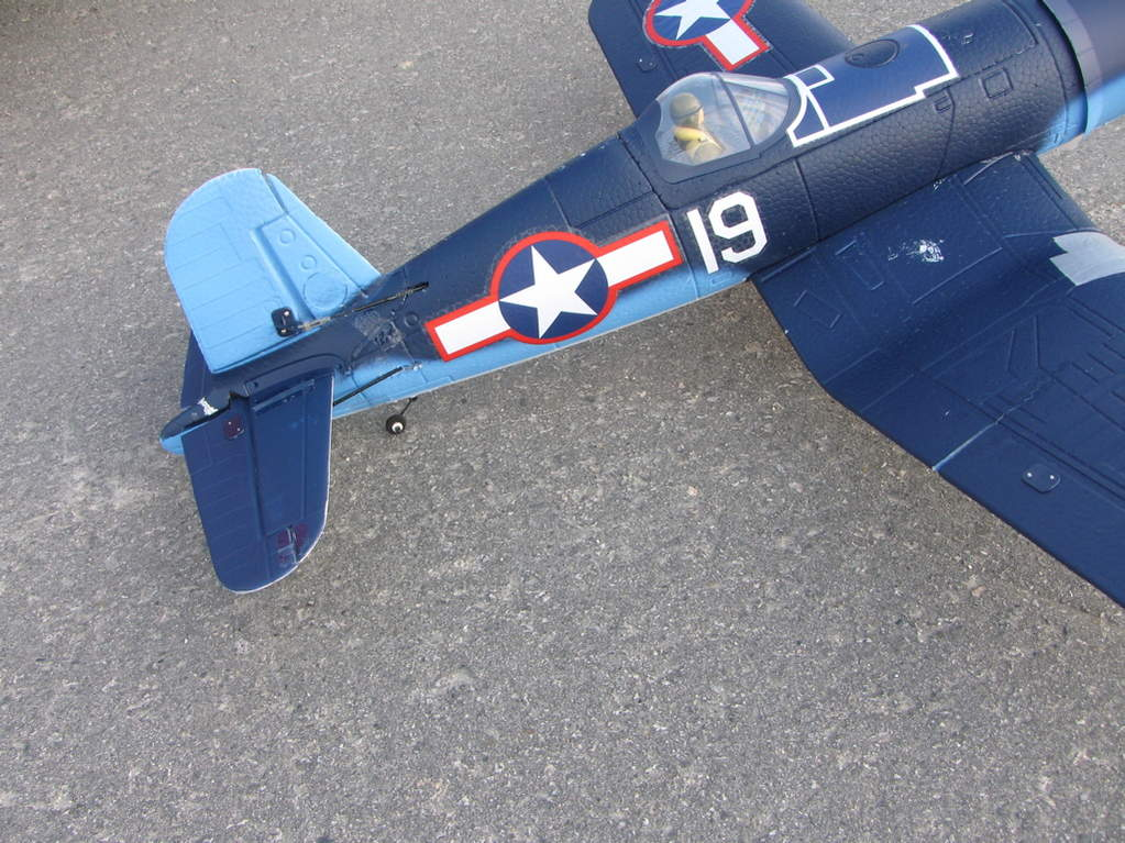 Name: IMG_1606.jpg Views: 142 Size: 126.9 KB Description: This is my Parkzone Corsair F4U. Great next plane after the Super Cub.