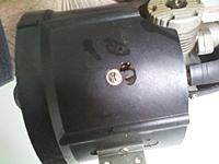 Name: Turbax fas system and k&B motor 8.jpg Views: 100 Size: 220.7 KB Description: Hole drilled for access to needle