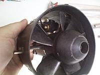 Name: Turbax fas system and k&B motor 9.jpg Views: 97 Size: 208.1 KB Description: scuff mark on fan from starter Turbax fan system