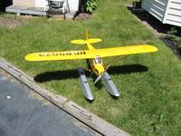 Name: IMG_2716.jpg Views: 374 Size: 182.8 KB Description: E-Flite J3 Cub 25E on floats *SOLD*