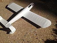 Name: IMG_0970.jpg Views: 240 Size: 72.1 KB Description: Old Balsa USA Mars.  The second plane I painted with Nelson paint.  This 40 size plane took under 8 oz to paint.  About 6 coats all with one foam brush!