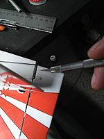 Name: IMG_20170805_045313.jpg Views: 21 Size: 234.9 KB Description: Cut a slot for the rudder control horn and insert it with CA.