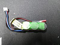 Name: IMG_20170809_175957.jpg Views: 24 Size: 1.26 MB Description: add velcro to your batt. This is a good time to mention that if you go over a 2s 200mAh.. it MAY end up becoming to heavy for the BL180 motor. If you wanna go with more, mount up a BL250