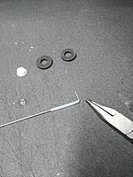 Name: IMG_20170809_220424.jpg Views: 21 Size: 979.9 KB Description: First, Bend a 90 about a half inch long and then put the PTFE tube down the wire just like this.