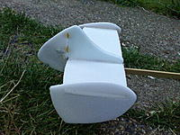 Name: DSC01077.jpg Views: 61 Size: 119.8 KB Description: Tail with larger rudder (and repairs)