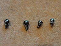 Name: DSC05940.jpg Views: 45 Size: 163.1 KB Description: From left ; Align 4.75mm, Blade 450 4.75mm, Esky Belt CP 4mm, Walkera V450 4mm