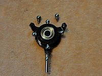 Name: DSC05948.jpg Views: 48 Size: 180.7 KB Description: 4mm balls on V450 Swash, 4.75mm balls up top on the left Align 4.75mm on right Blade 4.75mm.
