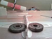 Name: 0211002227 (Medium).jpg Views: 687 Size: 57.9 KB Description: glued wing support rods in with wing flat.