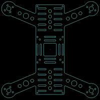 """Name: Quadcopter_H-257_V3-L.jpg Views: 225 Size: 74.3 KB Description: H257 V3 Frame 257mm 7"""" Props"""