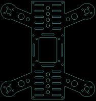 """Name: Quadcopter_H-222_V2-L.jpg Views: 160 Size: 66.8 KB Description: H-222 V2 Frame 222mm 6"""" Props"""