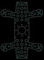 """Name: Quadcopter_H-191_V1-L.jpg Views: 186 Size: 62.2 KB Description: I-191 V1 Frame 191mm 5"""" Props"""