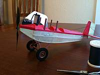 "Name: IMG_0353.jpg Views: 253 Size: 54.6 KB Description: I got the landing gear on. GWS 1"" wheels."