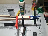 Name: from mobile device 1349.jpg Views: 184 Size: 606.2 KB Description: gluing on the top and bottom 1/8 plywood pieces