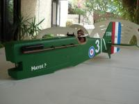 Name: 24. SE5a Fuz complete tail feathers trial fitted.jpg