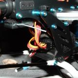 The main receiver for the AR7000 is mounted between the frames, right behind the motor.