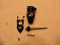 Name: P8110004.jpg Views: 32 Size: 198.9 KB Description: Left Side Tail Case and Tail Shaft Parts.