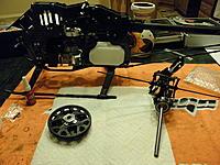 Name: P8310005.jpg Views: 69 Size: 269.5 KB Description: Frames, Main/Auto Gears and Head/Main Shaft.