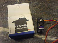 Name: DSC00318.jpg Views: 148 Size: 77.6 KB Description: These are the servos I'm using.  Metal geared and very quick.  I got them from a Hong Kong ebay trader for about �18 (delivered) for 4 so a bargain price.  You can search on the name and find them.