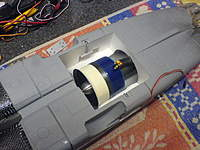 Name: DSC00322.jpg Views: 77 Size: 103.3 KB Description: Note that the power cable come out at an awkward location.  I later added a tiny hole about 30mm aft of the hatch to allow the cables out in a straight line...