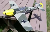 Name: Imgp0053.jpg Views: 234 Size: 59.1 KB Description: ME-109.. stock markings. It's the only warbird I have that still uses brushless. All my others I've taken the brushless out and replaced with a brushed 400 and D gearing.