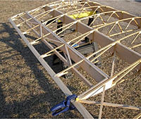"""Name: Full Scale Pete Wing STRUCTURE-2.jpg Views: 131 Size: 141.0 KB Description: ...and the """"piece de resistance"""". the area you were REALLY lookin' for...the AILERON area, with its """"shorter"""" wingribs !!"""