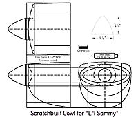 Name: Scratchbuilt Fiberglass Cowl for 'Li'l Sammy'.jpg
