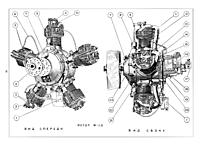 7 Cylinder Radial Static Engines