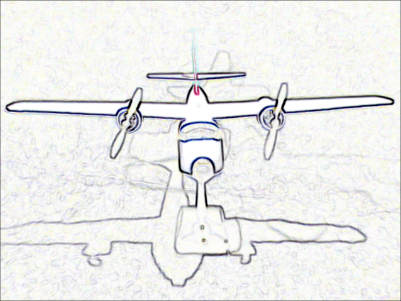 Name: Grumman Albatross black'n'white front view.png