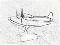 Name: Grumman Albatross black'n'white side view.png Views: 76 Size: 292.0 KB Description: