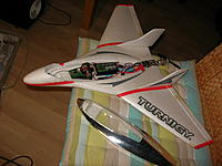 Name: DSCN7605.jpg Views: 51 Size: 208.4 KB Description: Parkjet, never flown, crashed 10 times until nose and motor ripped off.  Now repaired but somehow afraid to fly it. Perhaps the gyro's will help.