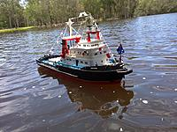 Name: Picture 090.jpg Views: 78 Size: 304.0 KB Description: hey ever 1 i have some good photos of to day at boondall boat and and my new boat i got a hull as well i will be doing up soon and i have some phtotos of my tug boat and yer thanks