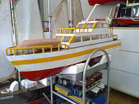 Name: Picture 092.jpg Views: 79 Size: 194.8 KB Description: hey ever 1 i have some good photos of to day at boondall boat and and my new boat i got a hull as well i will be doing up soon and i have some phtotos of my tug boat and yer thanks