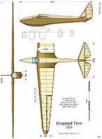 Name: Airspeed-Tern_3vues.jpg Views: 328 Size: 65.5 KB Description: