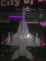 Name: IMG1027.jpg Views: 79 Size: 60.0 KB Description: Weapons painted for next sortie mission. Reports of Canadian Geese in the area bombing cars with extra large poop. Preparing for interception.