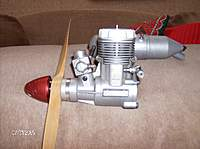 Name: Kevins plane photos 024.jpg Views: 178 Size: 62.1 KB Description: This is the O S .40 that im going to put in my twister.