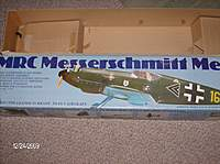 Name: Kevins plane photos 010.jpg Views: 250 Size: 88.2 KB Description: It is snowing out so i started to build my MRC BF109. This plane is a gas powerd fom plane.