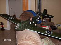 Name: Kevins plane photos 011.jpg Views: 192 Size: 69.9 KB Description: Here is the finished plane. All i have to do is put the radio equipment in.