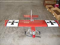 Name: Kevins plane photos 003.jpg Views: 219 Size: 60.1 KB Description: this is the front view of my big stik .60