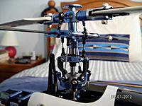 Name: Main Rotor head.jpg Views: 108 Size: 157.9 KB Description: Its composed of all genuine Align parts